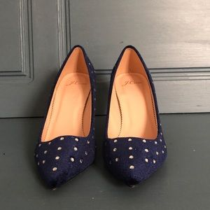 J.Crew pointed toe pumps